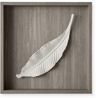 Williams-Sonoma Porcelain Leaf Wall Sculpture, Single