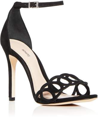 Schutz Women's Sthefany Ankle Strap High Heel Sandals