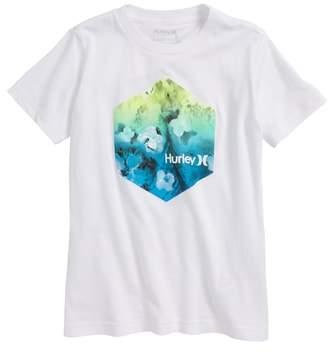 Hurley Watercolor Premium Graphic T-Shirt