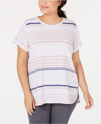 Calvin Klein Plus Size Vista Striped Top