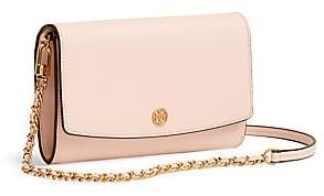 Tory Burch Women's Robinson Leather Wallet-On-Chain