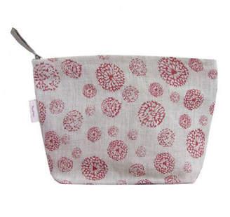 NEW Cosmetics bag in wildflower red Women's by Memi Designs