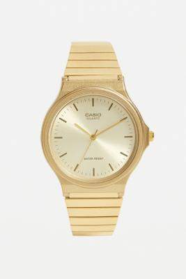 Casio MQ24G Vintage Gold Watch - gold at Urban Outfitters