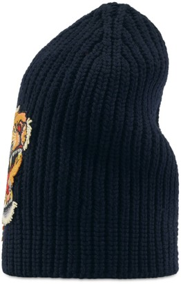 Gucci Wool hat with tiger