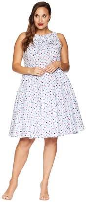 Unique Vintage Plus Size Doheny Swing Dress Women's Dress