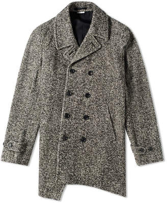 Comme des Garcons Double Breasted Pea Coat