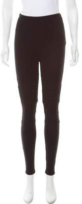 Givenchy Mid-Rise Moto Pants