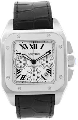 Cartier Santos W20090X8 Stainless Steel 42mm Mens Watch