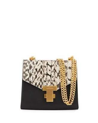 Tory Burch Juliette Mini Exotic Chain Shoulder Bag