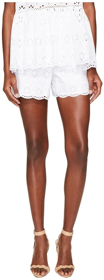 Kate Spade Kate Spade New York - Spice Things Up Eyelet Shorts Women's Shorts