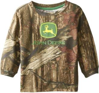 John Deere Little Boys' Long Sleeve Trademark Tee Toddler