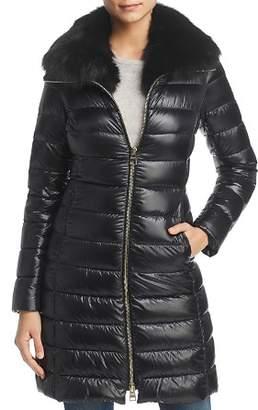 Herno Fox Fur Neck Nylon Down Coat