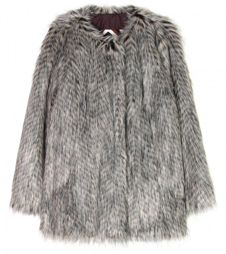 Marc by Marc Jacobs RICKY RACCOON FAUX FUR JACKET
