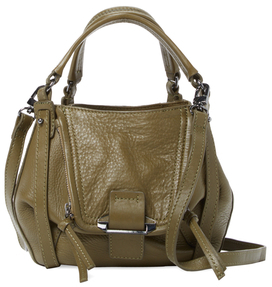 Jonnie Mini Leather Shopper Satchel $278 thestylecure.com