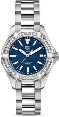 Tag Heuer Aquaracer Diamond Watch, 36mm