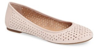 Women's Lucky Brand Eaden 2 Perforated Flat $69.95 thestylecure.com