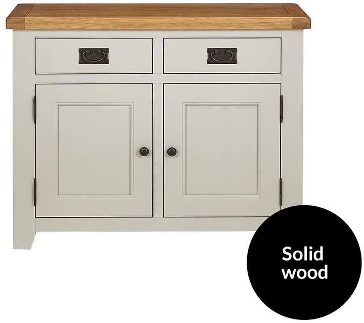 Luxe Collection - Oakland Painted 100% Solid Wood Ready Assembled Compact Sideboard