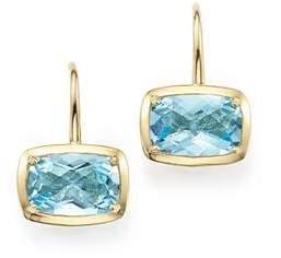 Bloomingdale's Blue Topaz Drop Earrings in 14K Yellow Gold - 100% Exclusive