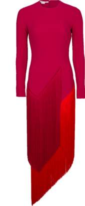 Stella McCartney Camille Dress With Fringe