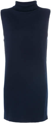 John Smedley roll neck sleeveless jumper