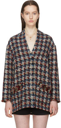 Isabel Marant Multicolor Tweed Jamsy Coat