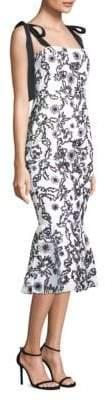 Rachel Zoe Lily Floral Mermaid Dress