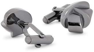 Lanvin Knotted Ruthenium-plated Cufflinks