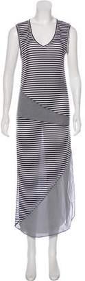 Haute Hippie Striped Midi Dress
