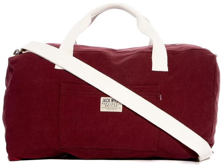Jack Wills Enbrook Barrel Bag