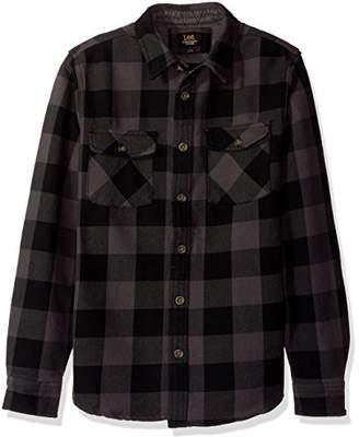 Lee Men's Long Sleeve Heavy Twill Stretch Shirt Jacket