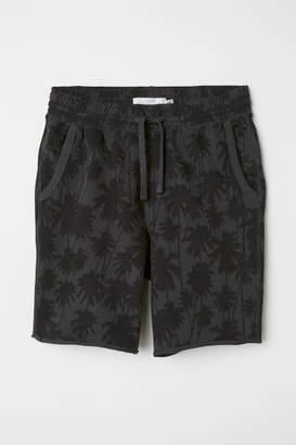 H&M Knee-length Sweatshorts - Black