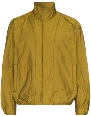 Issey Miyake blouson high collar jacket