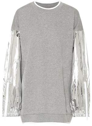 Maison Margiela Oversized cotton sweatshirt