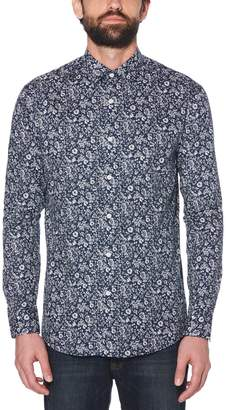 Original Penguin Winter Blue Floral Dress Shirt