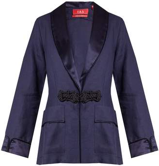 F.R.S - FOR RESTLESS SLEEPERS Armonia linen jacket