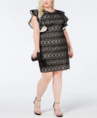 Plus Size White Lace Dress With Sleeves Shopstyle