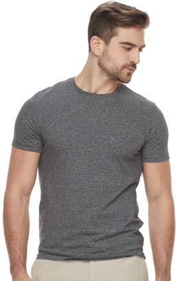 Marc Anthony Men's Slim-Fit Striped Stretch Crewneck Tee