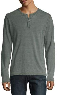 Lucky Brand Sueded Burnout Pullover