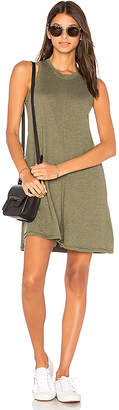 Nation LTD Phoebe Tank Dress in Green $88 thestylecure.com