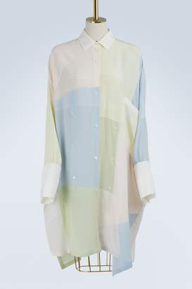 Loewe Patchwork shirt-dress