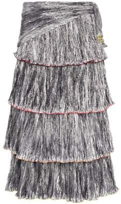Rosie Assoulin High-Waisted Tiered Skirt