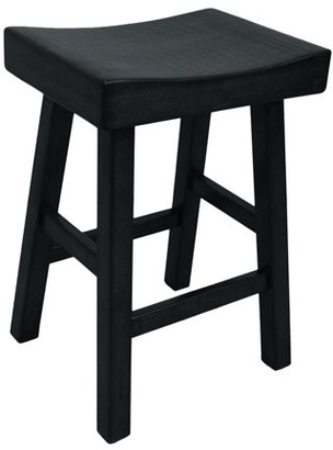 Carolina Chair and Table Thea 24 in. Backless Counter Stool