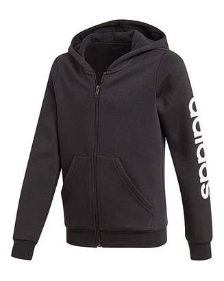 adidas Younger Girls Linear FZ Hoodie