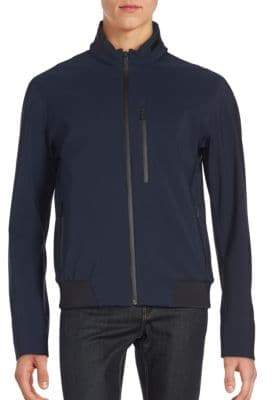 Loro Piana Mockneck Long Sleeve Jacket