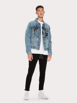 Scotch & Soda Trucker Jacket Felix the Cat