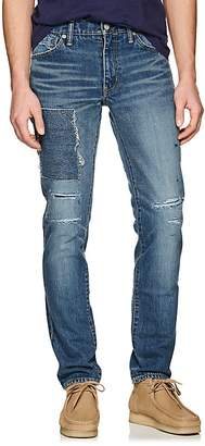 Visvim Men's Distressed Slim Jeans