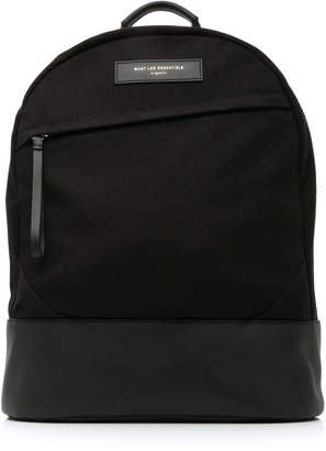 WANT Les Essentiels Kastrup Cotton Canvas Backpack
