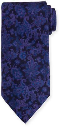 Stefano Ricci Paisley-Print Silk Tie $250 thestylecure.com