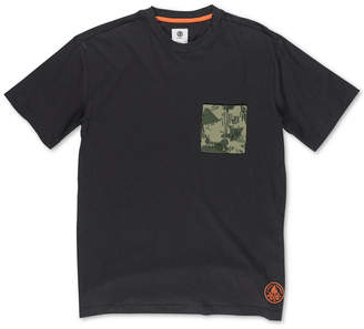 Element Men's Ea Camo-Pocket T-Shirt