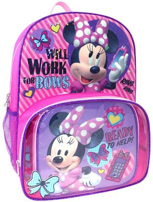 Disney's Minnie Mouse Backpack & Lunch Tote Set $29.99 thestylecure.com